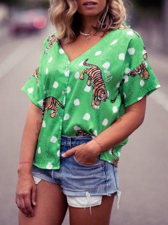 Camisa Tigres verde